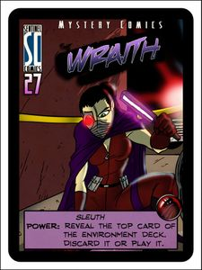 Sentinels of the Multiverse: Rook City – The Wraith Promo Card