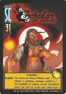 Sentinels of the Multiverse: Scholar of the Infinite Promo Card