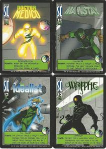 Sentinels of the Multiverse: The Adamant Sentinels Promo Pack