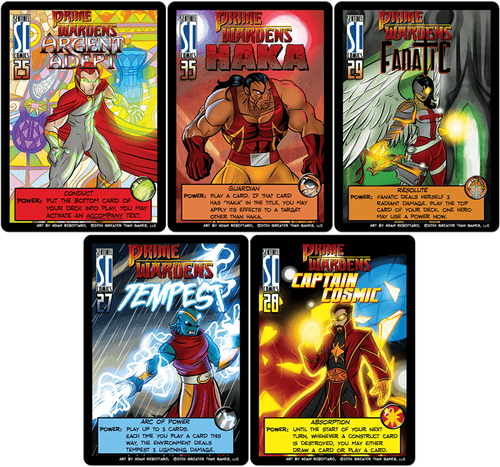 Sentinels of the Multiverse: The Prime Wardens Promo Pack
