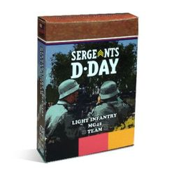 Sergeants D-Day: German Light Infantry MG-42 Team expansion