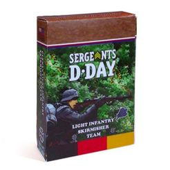 Sergeants D-Day: German Light Infantry Skirmishers Section expansion