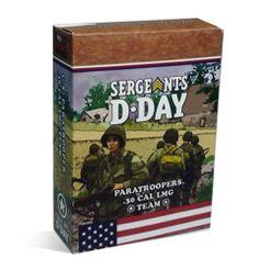 Sergeants D-Day: US Paratrooper .30 Cal Team expansion