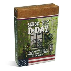 Sergeants D-Day: US Paratrooper Glider Rifle Grenadier Section expansion