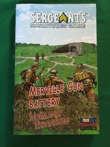 Sergeants Miniatures Game: Merville Gun Battery Normandy Expansion