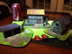 Sergeants Miniatures Game: Pontigou Farm Normandy Expansion