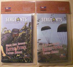 Sergeants Miniatures Game: Tactics Module