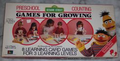 Sesame Street Preschool Games for Growing: Counting