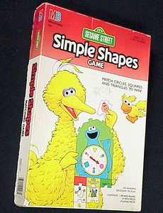 Sesame Street Simple Shapes Game