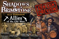 Shadows of Brimstone: Allies of the Old West