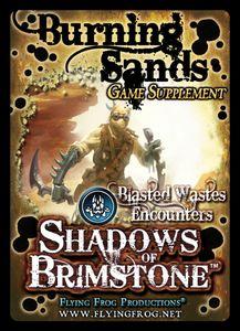 Shadows of Brimstone: Burning Sands Game Supplement