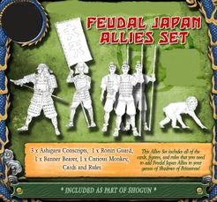 Shadows of Brimstone: Feudal Japan Allies Ally Expansion Set