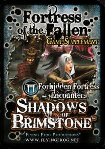 Shadows of Brimstone: Fortress of the Fallen Game Supplement