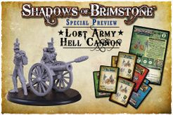 Shadows of Brimstone: Lost Army Hell Cannon and Crew