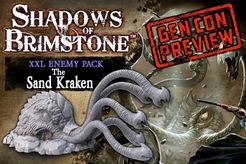 Shadows of Brimstone: Sand Kraken XXL Enemy Pack