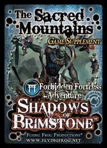 Shadows of Brimstone: The Sacred Mountains Game Supplement