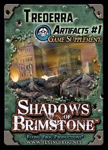 Shadows of Brimstone: Trederra Artifacts Game Supplement