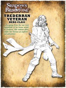 Shadows of Brimstone: Trederran Veteran Hero Pack