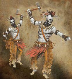 Shadows of Brimstone: Tribal Ghost Warriors