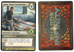 Shards of Infinity: Lasav, Tower Commander Promo Card