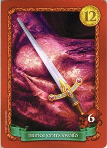 Sheriff of Nottingham: Prince John's Sword Promo Card