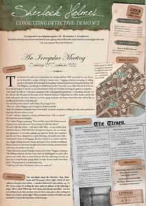Sherlock Holmes Consulting Detective: An Irregular Meeting