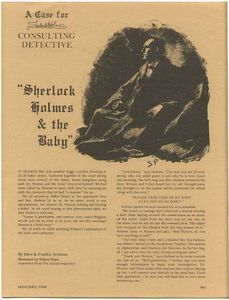 Sherlock Holmes Consulting Detective: Sherlock Holmes & The Baby