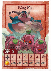Shinobi WAT-AAH!: King Pig promo card