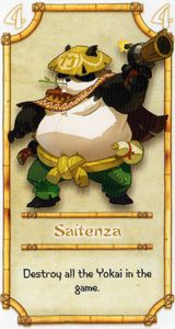 Shinobi WAT-AAH!: Saitenza Promo Card
