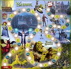 Shrek Road to Royalty Board Game
