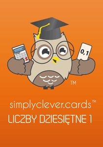 SimplyClever.Cards Decimal Numbers 1