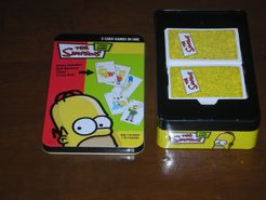 Simpsons:  3 Card Games in One