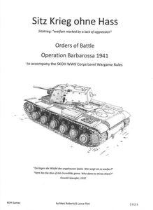Sitz Krieg ohne Hass: Orders of Battle – Operation Barbarossa 1941
