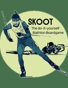 SKOOT: The Do-It-Yourself Biathlon Boardgame