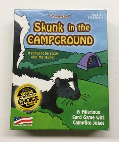 Skunk in the Campground