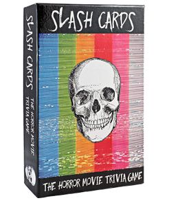 Slash Cards: The Horror Movie Trivia Game