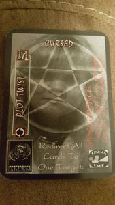 Slasher: The Final Cut – Cursed Promo Card