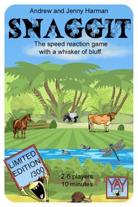 SNAGGIT: The  Speed Reaction Card Game with a Whisker of Bluff