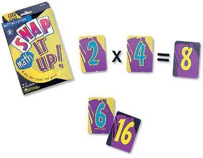 Snap It up Math: Multiplication