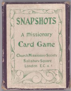 Snapshots: A Missionary Card Game