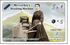 Snowdonia: Mrs Larkin's Washing Machine