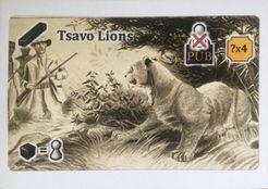 Snowdonia: Tsavo Lions Promo Card