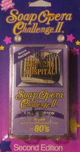 Soap Opera Challenge II:  General Hospital