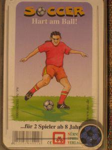 Soccer- Hart am Ball