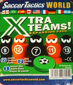 Soccer Tactics World: Xtra Teams