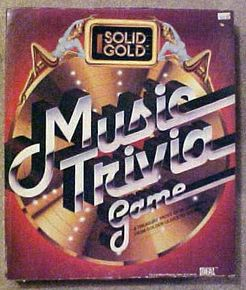 Solid Gold Music Trivia Game