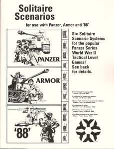 Solitaire Scenarios for Use with Panzer, Armor, and 88
