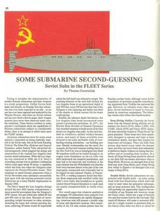 Some Submarine Second-Guessing