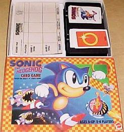 Sonic The Hedgehog Card Game