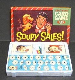 Soupy Sales mini-board Card Game